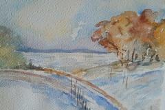 Chemin-sur-la-neige